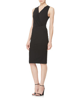 Donna Karan Pull-On Knit Pencil Skirt