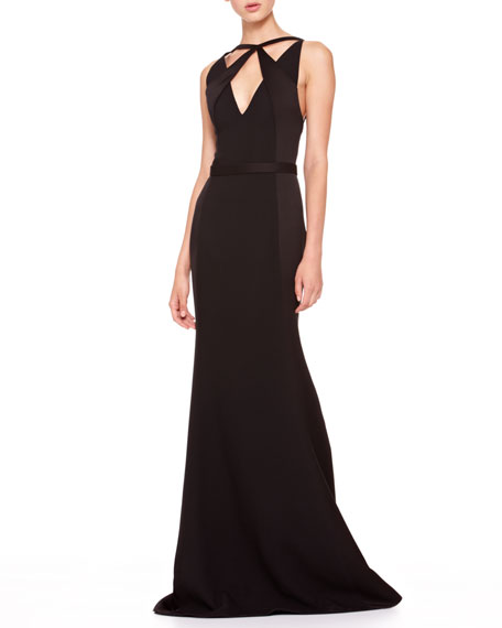Crisscross-Top Combo Gown