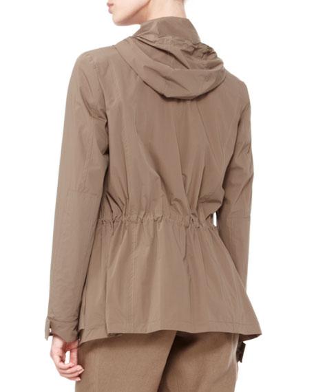 Liz Hooded Wind Jacket