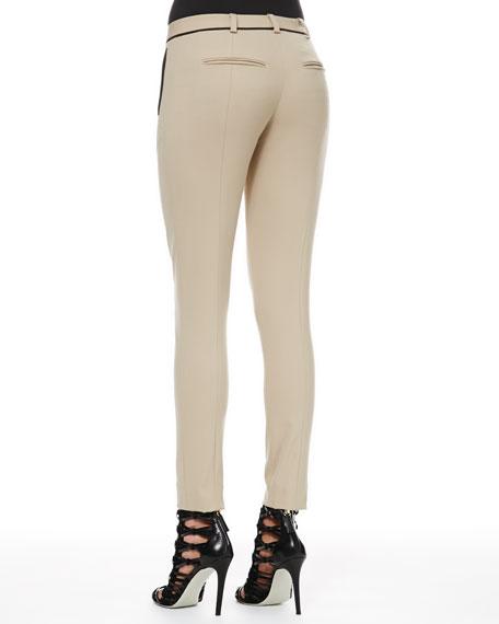 Bi-Stretch Wool Ankle Pants