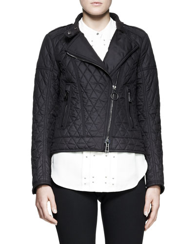 Belstaff Longston Lightweight Quilted Moto Jacket