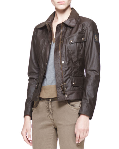 Colby New Waxed Cotton Jacket
