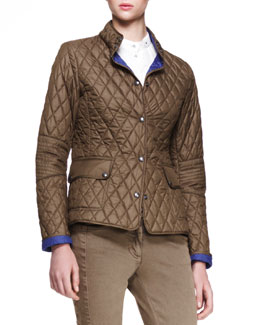 Belstaff Sheffield New Quilted Jacket