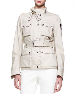 Belstaff Roadmaster New Resin-Coated Jacket