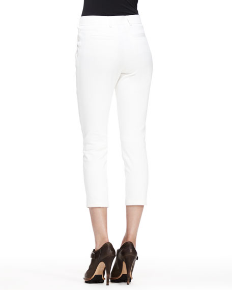 Marston Cropped Twill Pants