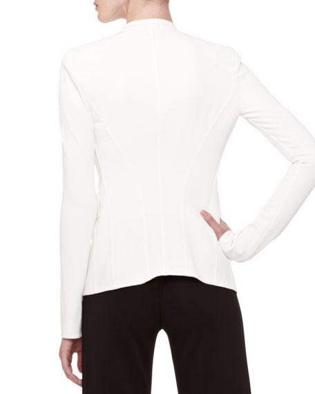 Single-Button Stretch Jacket