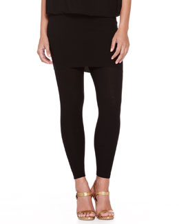 Donna Karan Jersey Ankle Leggings