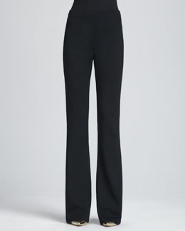 St. John Kasia Milano Boot-Cut Pants