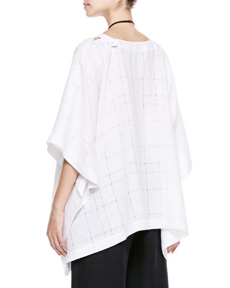 Wide T-Shirt Caftan, White
