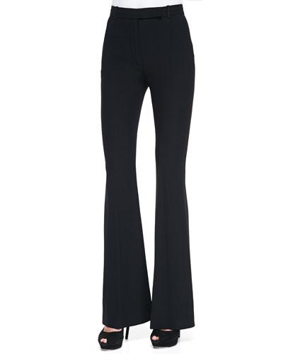 Alexander McQueen High-Waist Flare Pants
