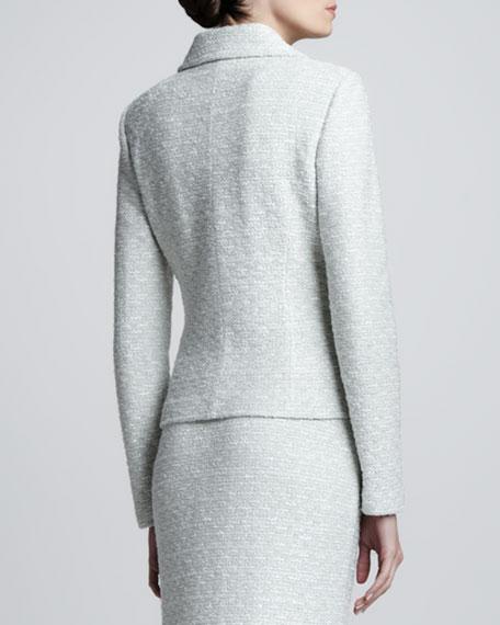 Crystalline Variegated Jacket, Aloe/Multi