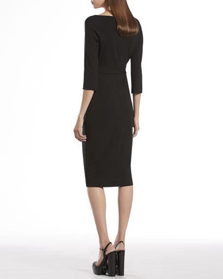 Black Belted Dress