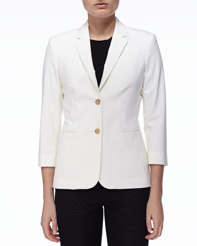 New Schoolboy Jacket, Ivory
