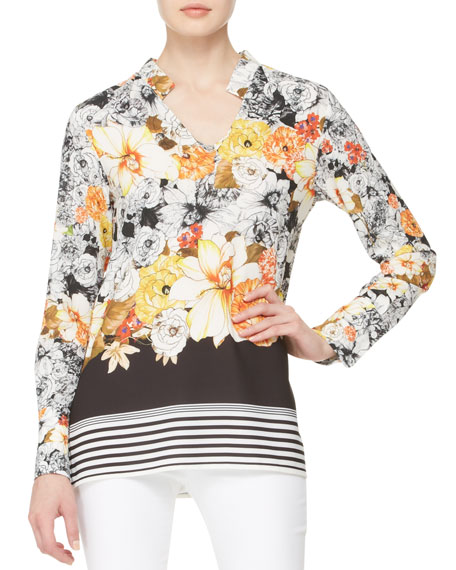 Graphic Garden Cady Tunic