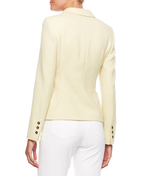 3-Button Blazer, Canary
