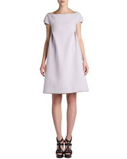 Jil Sander Report Cap-Sleeve Dress