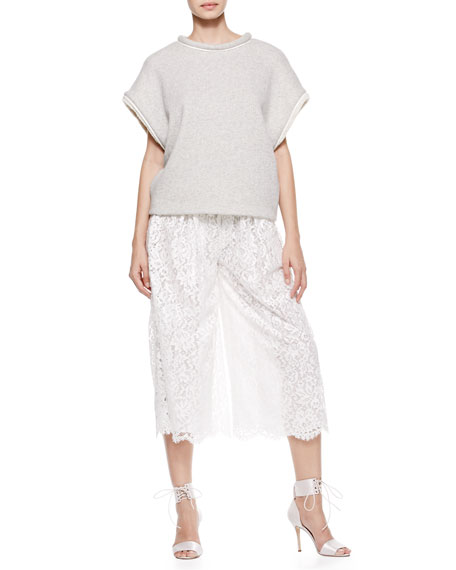 Mid-Length Lace Culottes