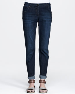 Brunello Cucinelli Five-Pocket Slim Jeans