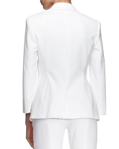Bracelet-Sleeve Jacket, White