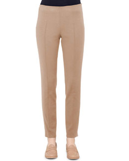 Akris Melissa Techno Pants, Steppe