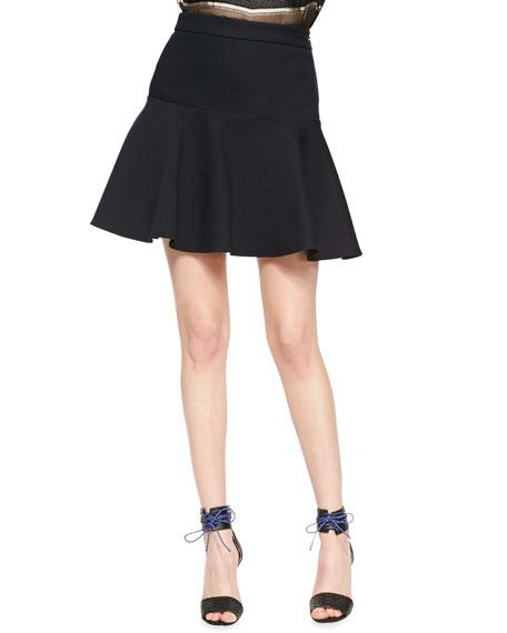 Hand-Stitched Flounce Skirt