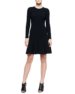 Michael Kors  Flare-Hem Knit Dress