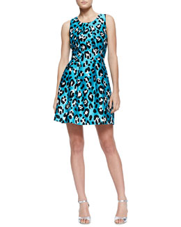 Michael Kors  Printed Bell Dress