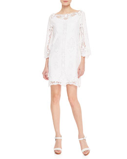 Ralph Lauren Black Label Bressweight Cotton Voile Donata Dress