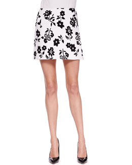 Ralph Lauren Collection Maxine Floral-Print Skirt