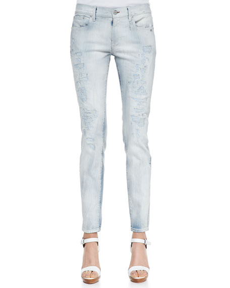 400 Distressed Matchstick Jeans, Catalytic Repair