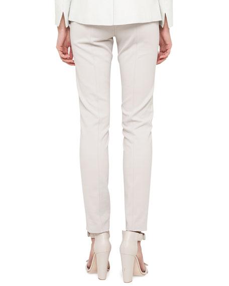 Fabiana Techno-Cotton Pants, Pebble