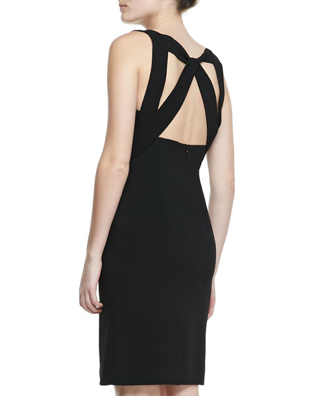 Open-Back Sleeveless Dress