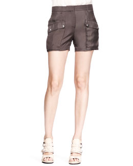 Belstaff Neston Twill Pocket Shorts
