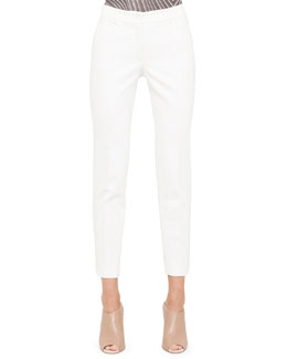 Akris Slim Denim Ankle Pants