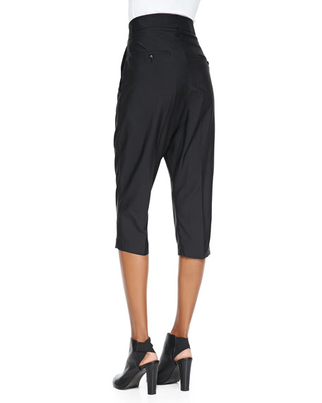 Easy Astaire Wide Cropped Pants