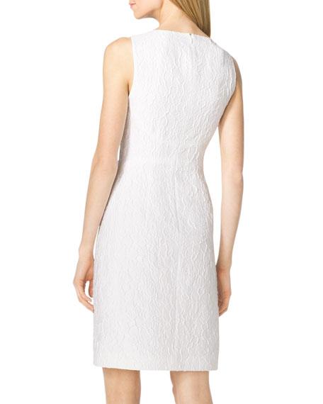 Floral-Texture Dress