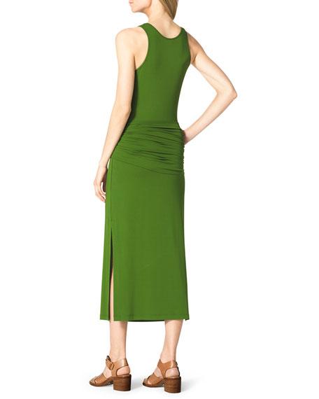 Belted Jersey Tank Dress