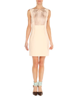 Arzu Kaprol Twist-Ribbon Bateau Dress