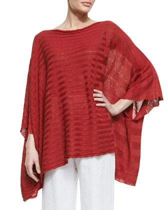 Mid Extra Wide Caftan, Red