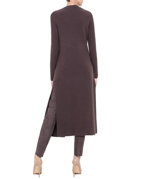 Belted Cashmere Cardigan Duster