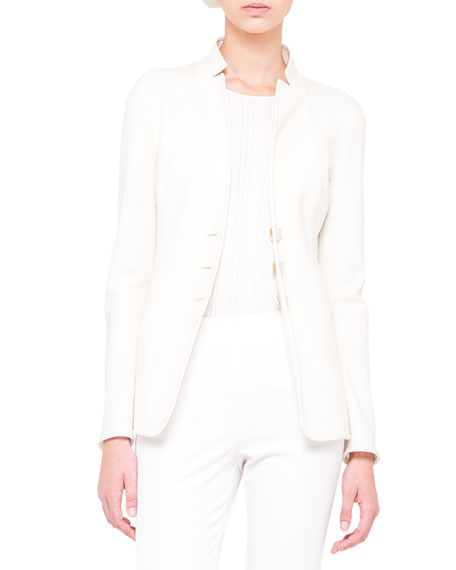 Reversible Three-Button Jersey Jacket