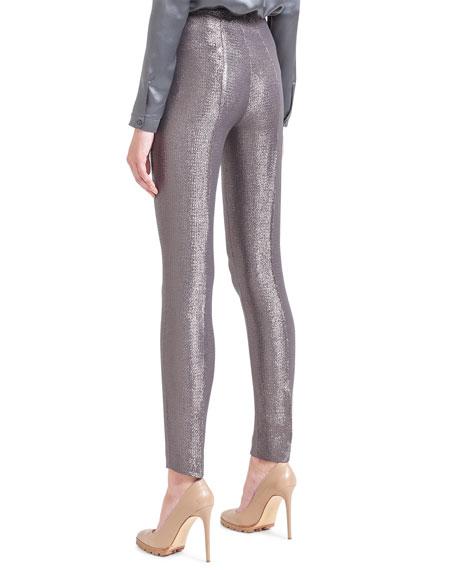 Melissa Shimmery Slim Pants