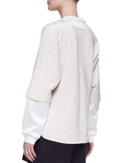 Double-Layer Combo Sweatshirt