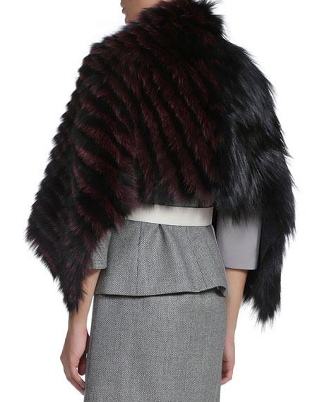 3-Way Fur Shawl/Bolero Jacket