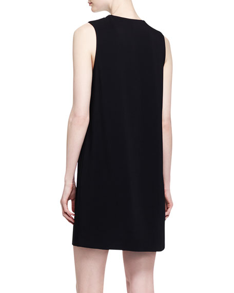 Two-Tone Double-Layer Dress