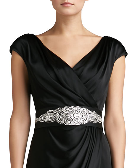 Duchesse Belt with Hand Beading