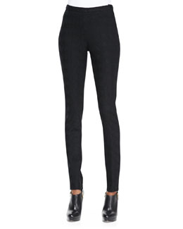 Missoni Skinny Jacquard Pants, Black