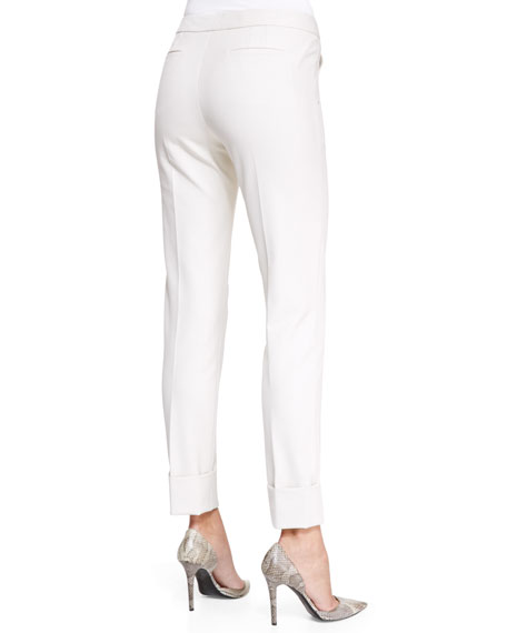 Tech Cotton Slim-Fit Pants