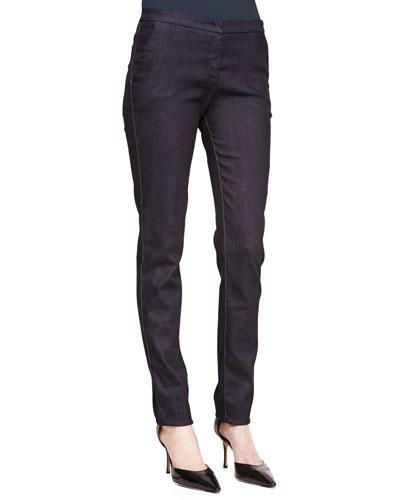 Denim Chino-Style Jeans