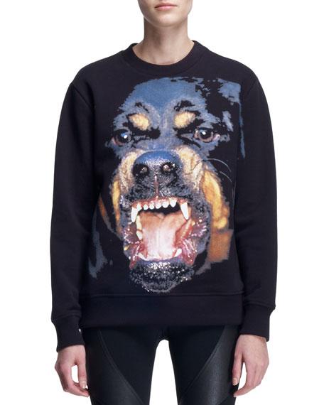 Giant Rottweiler Crew Sweatshirt